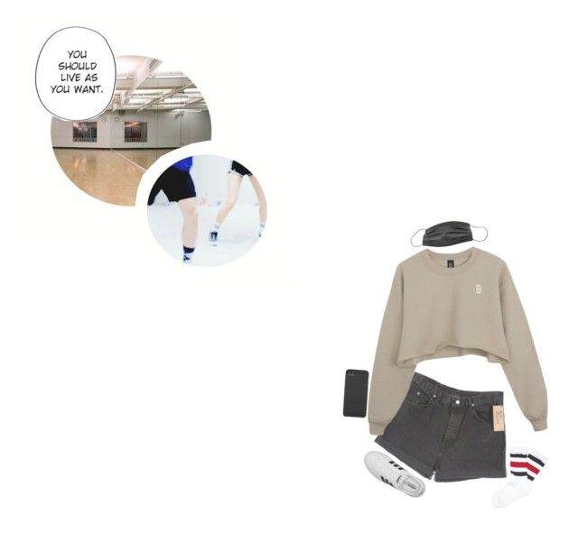 Dance Cover W/ Yugyeom: Minah by real4u on Polyvore featuring polyvore fashion style Gucci adidas Incase Wrangler clothing