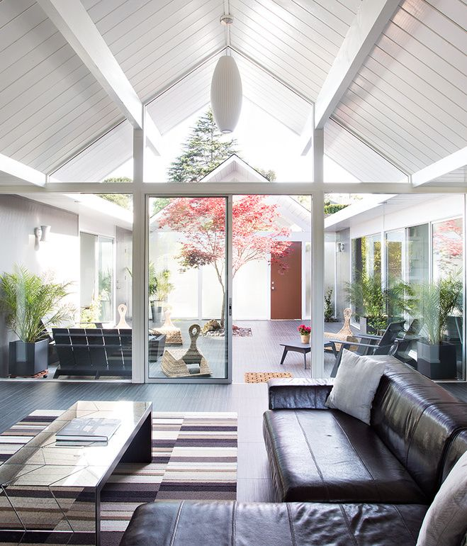 Here, the relationship between indoors and outdoors is on full display. The architects aimed to create a smooth transition between the tw...