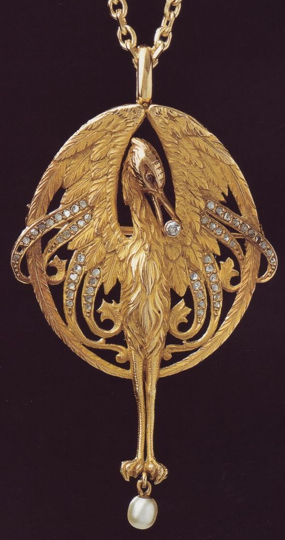 "treasures-and-beauty: "" Spanish Art Nouveau Jewelry by Luis Masriera (1872-1958) """