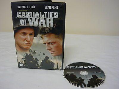 Casualties of War DVD (WIDESCREEN) Action Adventure Michael J. Foxx Sean Penn Sale