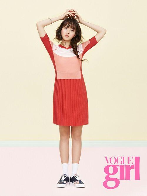 Kim So Hyun in Vogue Girl Korea April 2015 Look 2