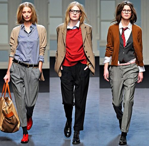 Love, Frank: How to Make Menswear-Inspired Dressing Work #Menswear Like our FB Page https://www.facebook.com/effstyle