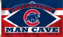 MLB Chicago Cubs Man Cave Fans Only Flag 3x5FT