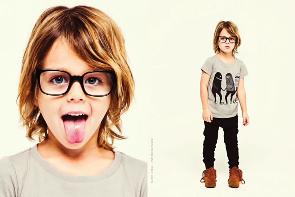 that hair! Mini & Maximus A/W 2012 |