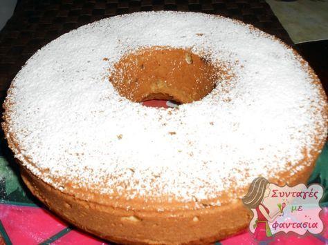 Κέικ νηστίσμο: Ένα νόστιμο νηστίσιμο κέικ με άρωμα πορτοκάλι που περιέχει σταφίδες και καρύδια!!