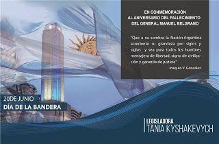 """Así Somos: Tania Kyshakevych: """"Nuestra Bandera nos une a todo..."""