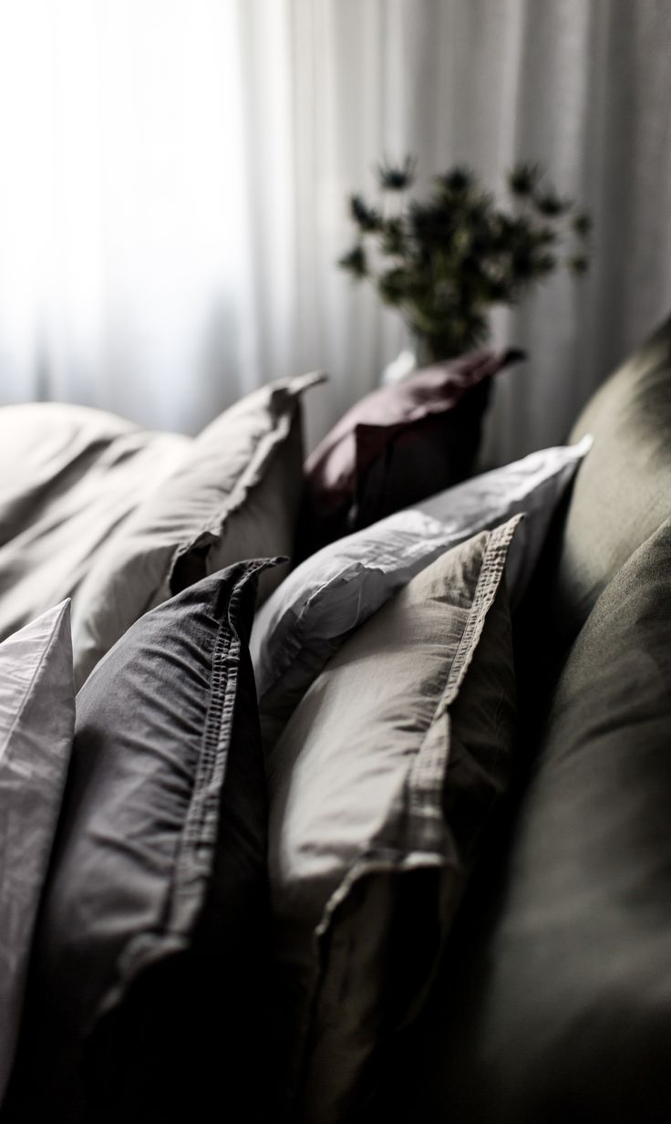 Sophisticated pillows   #Himla_ab #cushions #pillow #cotton
