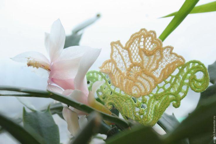 Купить вышивка, аппликация Фактурная Роза двухцветная - вышивка машинная, аппликация вышитая, декоративные элементы