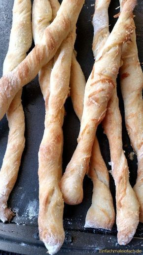 Schnelle Brotsticks