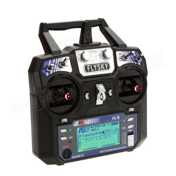 FlySky FS-i6 2,4G 6CH AFHDS RC Transmissor com FS-iA6B Receptor Venda - Banggood.com