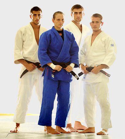 Artium Arshanski, Golan Pollack, Loseb Palelashvili and Alice Schlesinger
