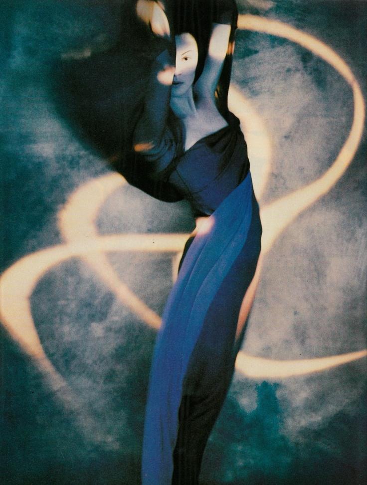 Photographed by Javier Vallhonrat for Vogue Italia September 1988