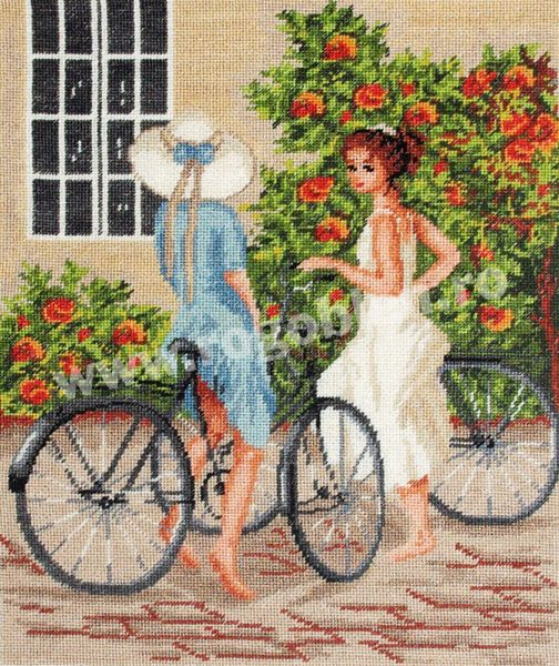 Cod produs 5.17 Biciclistele Culori: 25 Dimensiune: 17 x 22cm Pret: 44.64 lei