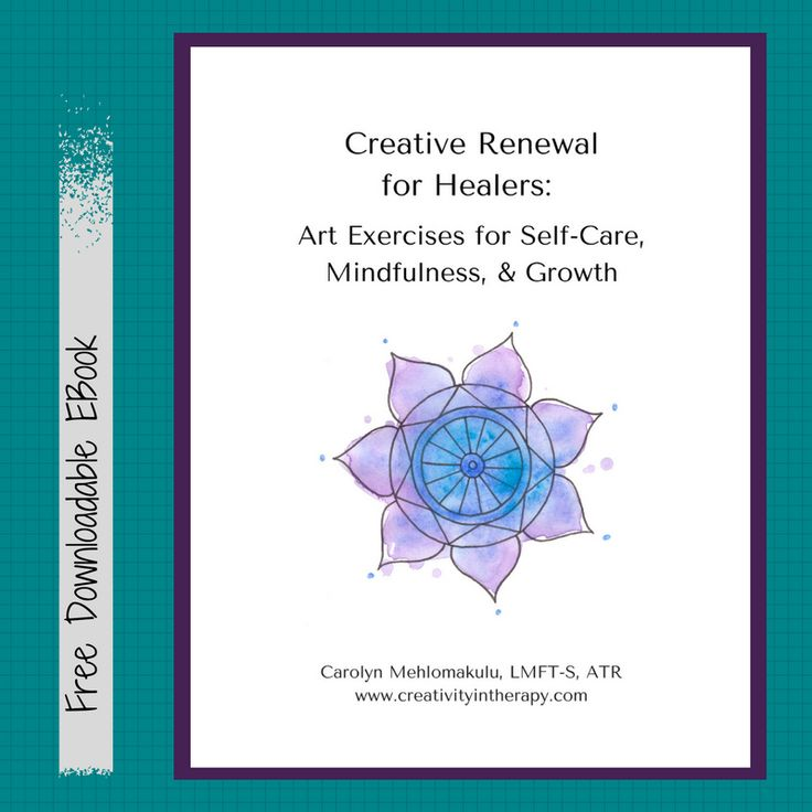 FREE EBOOK – Creative Renewal for Healers: Art Exercises for Self-Care, Mindfuln… – Art Therapy Finds: Community Board