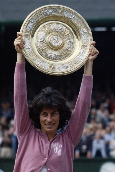 The Best British Sporting Victories - The World Cup 2014 | Town & Country Magazine UK    Virginia Wade Wins Wimbledon in 1977  It was the summer of the Queen's Silver Jubilee when Virginia Wade won the women's singles title at Wimbledon. It was her third grand slam victory and a huge achievement at the time, although little did she know it would be 36 years before we saw another British champion.