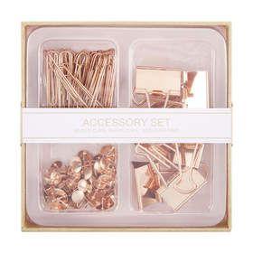 Accessory Set - Rose Gold
