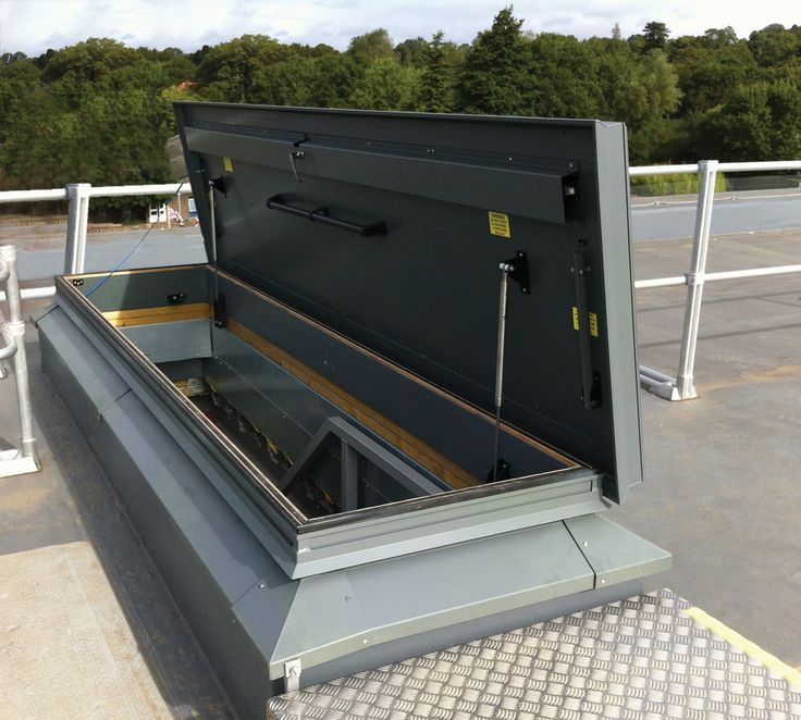 Delightful Size Is No Object, This Roof Hatch Was Over 2 Meters Long And Allows Easy