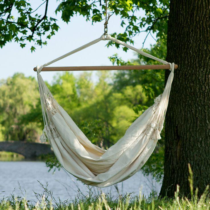 die besten 25 hanging hammock ideen auf pinterest h ngesessel h ngesessel f r innen und. Black Bedroom Furniture Sets. Home Design Ideas