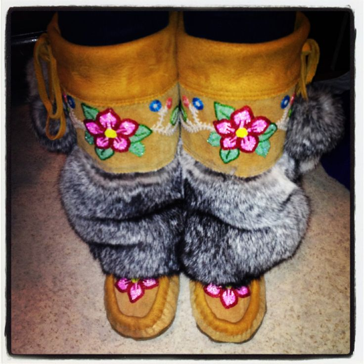 MukLuks <3 The real thing made from a Cree Woman