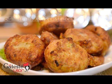 Reteta de Chiftele din Cartofi si Ciuperci de Post - YouTube