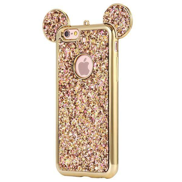 2017 Luxury Bling Mickey & Minnie iPhone Case – Aubrey Summer