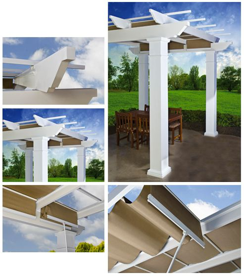 Marvelous The Trex®Pergola™ With ShadeTree® Canopy Offers The Ultimate In Outdoor  Living Comfort