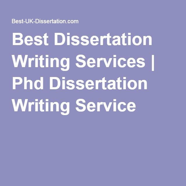 Professional Help with PhD Dissertation