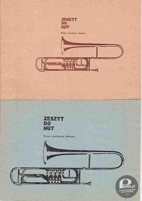 zeszyt do muzyki