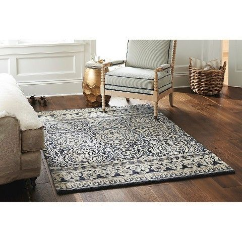Threshold Belfast Area Rug Ivory 5 X7 Living Room