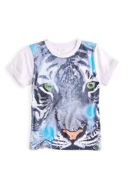 #PumpkinPatchkids fashion spring/summer collection 2013  Tiger Tee $26.99