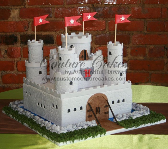 another castle cake