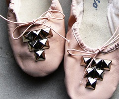 french slippers (ballet shoes)