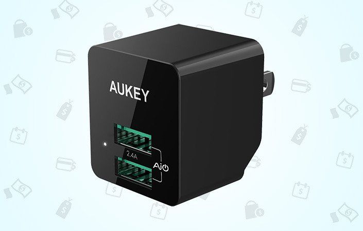 Grab Aukey's folding travel charger for just $6 right now! - https://www.aivanet.com/2017/01/grab-aukeys-folding-travel-charger-for-just-6-right-now/