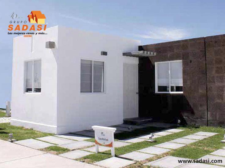 #conjuntoshabitacionales LAS MEJORES CASAS DE MÉXICO. SAN RAFAEL es uno de nuestros modelos de vivienda en el fraccionamiento Hacienda Viñedos. Está acondicionado con sala, comedor, cocina, 3 recámaras con espacio para clóset, 2 baños, cuarto de lavado, patio y estacionamiento, además de acabados de cantera y pisos de loseta cerámica. En Grupo Sadasi le invitamos a comprar su casa en nuestros desarrollos de Guanajuato, donde le encantará vivir. mgmendozaz@sadasi.com