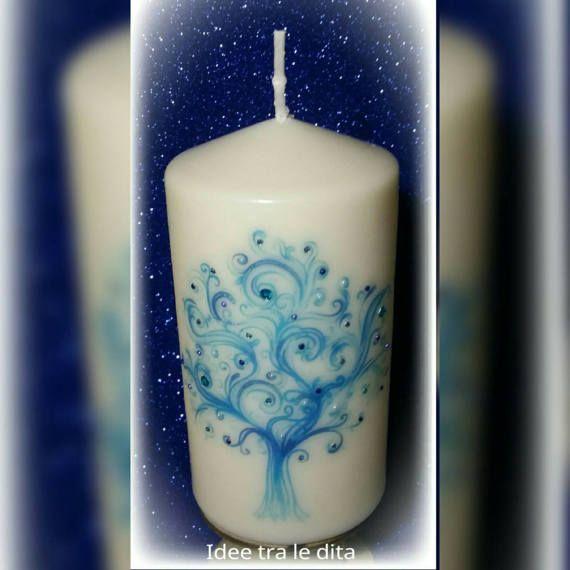 Guarda questo articolo nel mio negozio Etsy https://www.etsy.com/it/listing/506121924/candle-tree-of-life