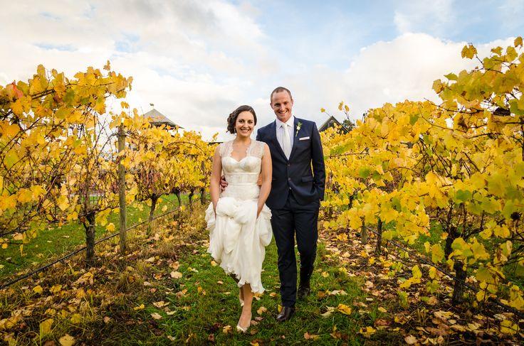Eva & Gordon's Autumn Wedding at Rochford Wines