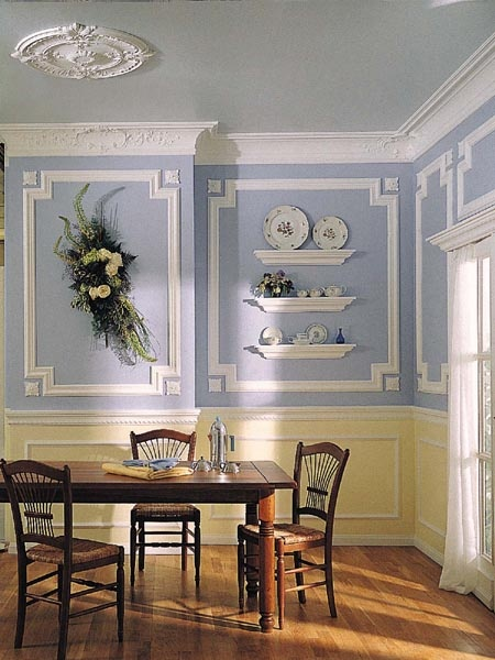275 best images about colonial revival on pinterest for Formal dining room wall decor