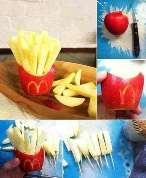 Frites pommes ... Style Mc Do... ...