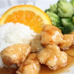 China: Orange Chicken