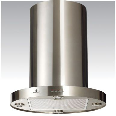 60cm Round Island Chimney Cooker Hood AT91.6S