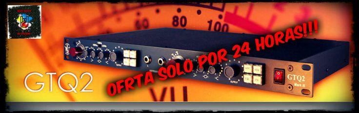 OFERTA VÁLIDA POR EL FIN DE SEMANA HASTA LAS 20 HS DEL 01-06-2015!!! AURORA AUDIO GTQ2 En stock para entrega inmediata. Producto nuevo con garantía válida en Argentina directo ante nosotros y a 220V. Cualquier duda, no dejes de consultarnos y no dejes pasar esta oferta imperdible!!! Muchas gracias.