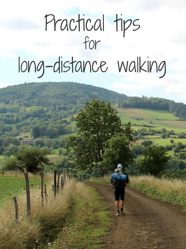 Long-distance walking, covering hundreds of kilometres, can seem a daunting idea. But a few practical tips will have you walking safely and comfortably...