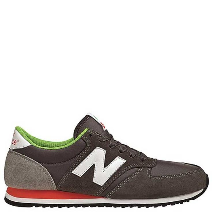 New Balance 420 Grey-Org-Grn