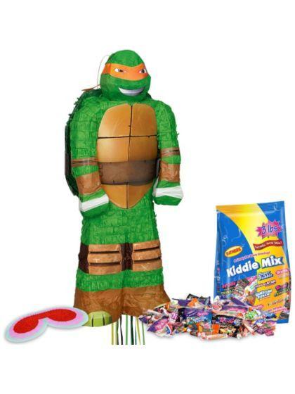 3D Ninja Turtles Pinata Kit - Pinata Kits Party Supplies