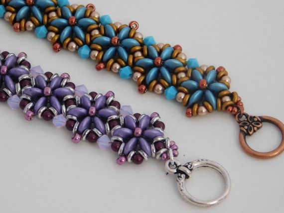 Bead / Bracelet / Tutorial / Instructions / by poetryinbeads