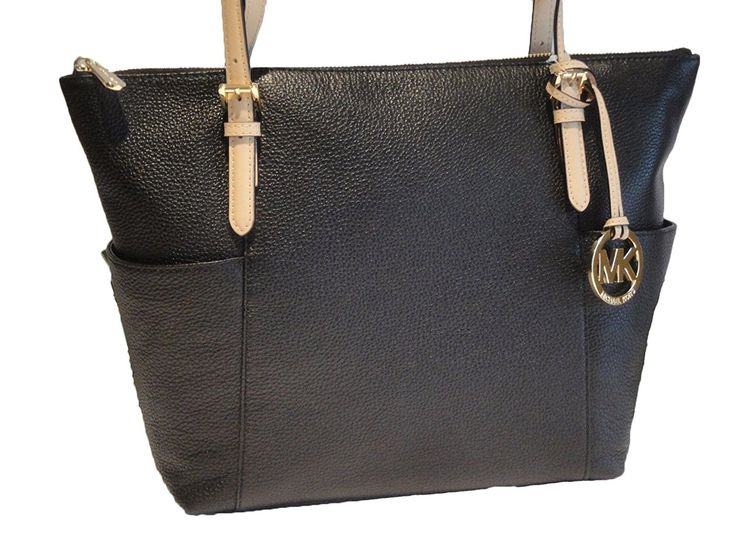Michael Kors Jet Set East West Top Zip Leather Tote ** Check out this great image  : Michael kors Handbags