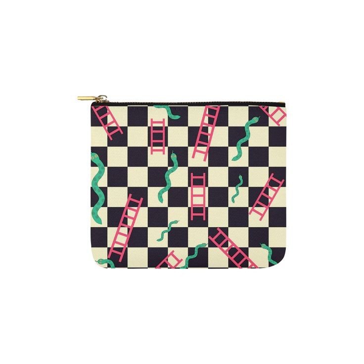 Snakes and Ladders Game Carry-All Pouch 6