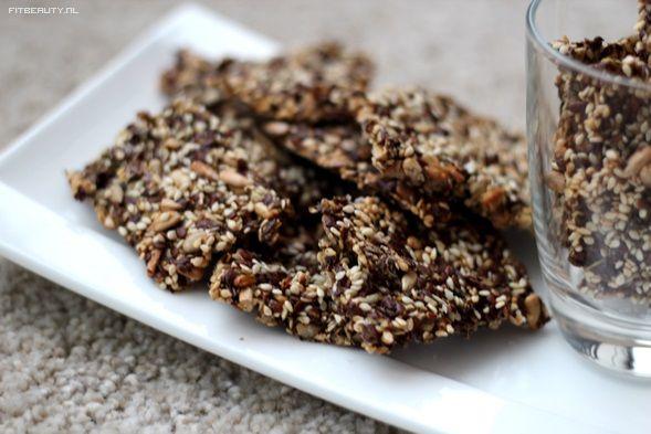 zelf zaden crackers maken