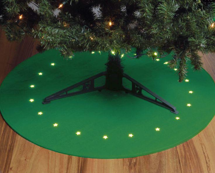 Alfombra pre-iluminado arbol 100 cm #decoracionnavidad #arol