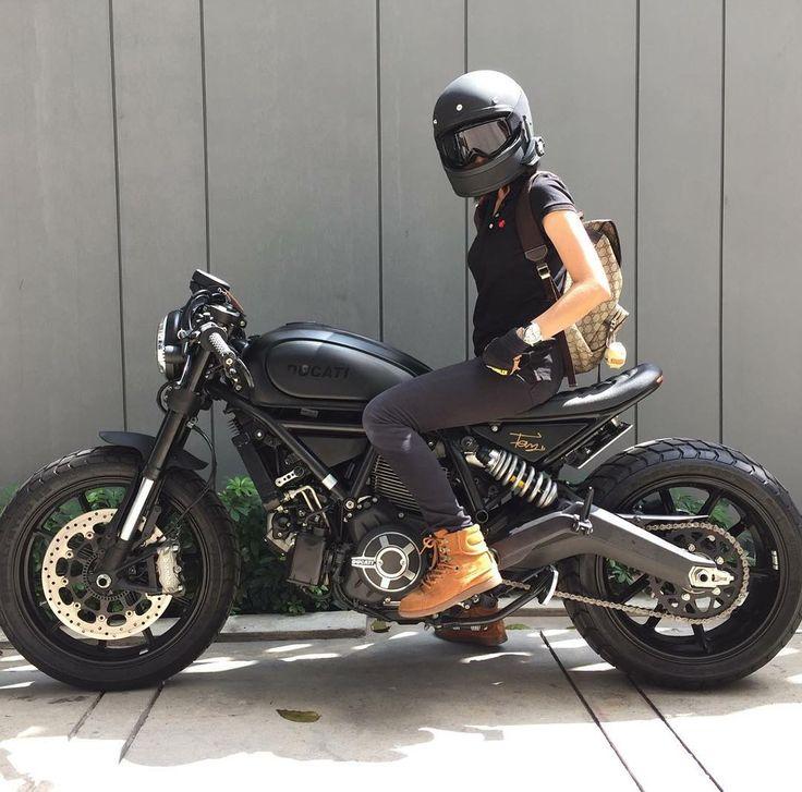 Real Motorcycle Women - ducatistagram